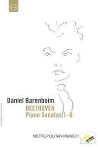 Beethoven Piano Sonatas Nos 1-6