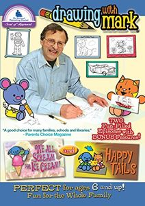 Drawing With Mark: Happy Tails /  We All Scream For