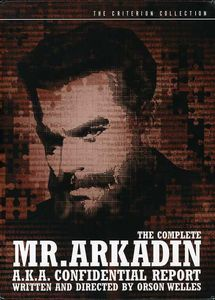 Complete Mr Arkadin (Criterion Collection)