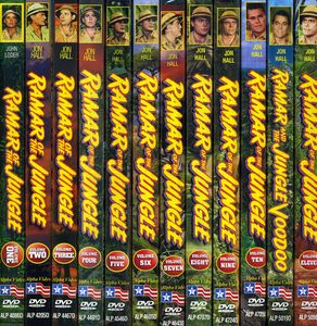 Ramar of the Jungle: Volumes 1-11 /  Ramar and the Jungle Voodoo