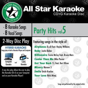 Karaoke: Party Hits, Vol. 5