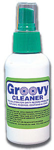 Bags Unlimited Agc-8 8Oz Groovy LP Cleaning Fluid