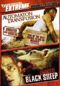 Dimension Extreme Double Feature: Automaton Transfusion /  Black Sheep