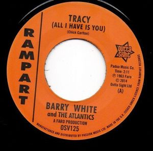 Tracy /  It Hurts Me [Import] , Barry White