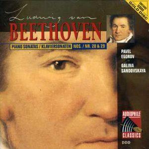 Beethoven: Pno Sonatas Nos 28 & 29