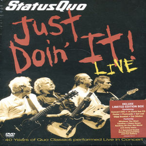 Just Doin It-Live [Import]