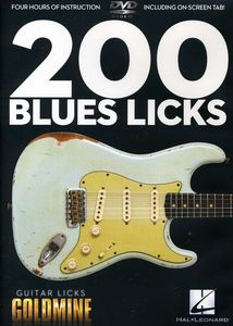 Guitar Licks Goldmine: 200 Blues Licks