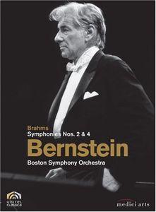 Bernstein: Boston Symphony Orchestra: Brahms, Symphonies Nos. 2 & 4