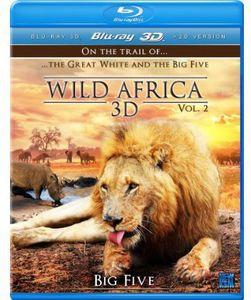 Wild Africa 3D-Part 2 3D [Import]
