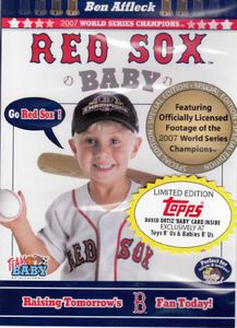 Red Sox Baby/ David Ortiz Topps Baby Card