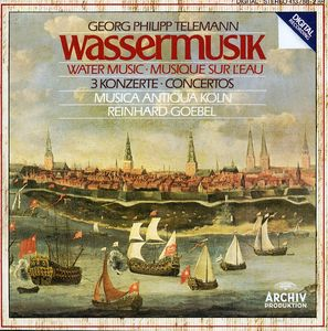 Water Music /  3 Concerti