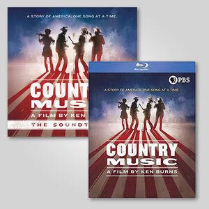 Ken Burns Country Music Lp/ blu-ray Bundle