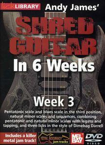 Andy James Shred Guitar in 6 Weeks: Week 3