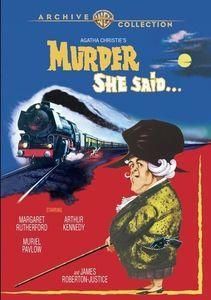 Murder She Said , Margaret Rutherford
