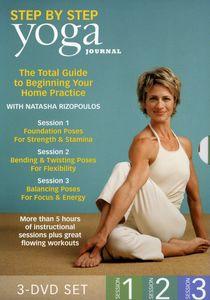 Yoga Journal's: Beginning Yoga Step by Step 1-3