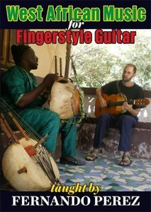 West African Music for Fingerstyle Guitar [Import]
