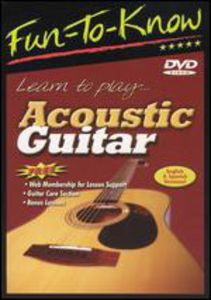 Fun-To-Know - Learn to Play Acoustic Guitar - English & Spanish Versio