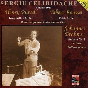 Brahms: Sym No 1 /  Purcell: King Arthur Ste
