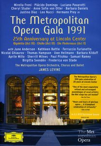 Metropolitan Opera Gala 1991: 25th Anniversary at