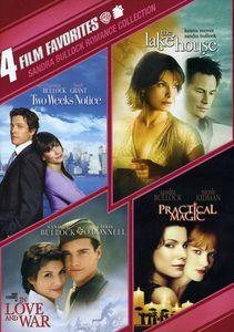 4 Film Favorites: Sandra Bullock Romance Collection