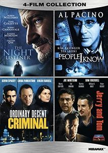 The Night Listener /  People I Know /  Ordinary Decent Criminal /  Jerry and Tom