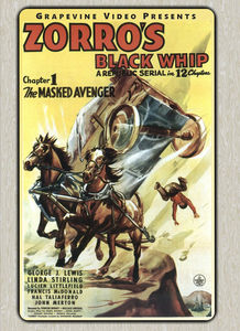 Zorro's Black Whip (1944)