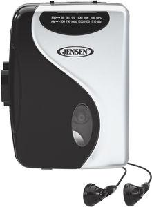 Jensen SCR-68C Stereo Cassette Player with AM/ FM Radio