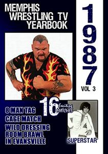 1987 Memphis Wrestling Tv Yearbook 3