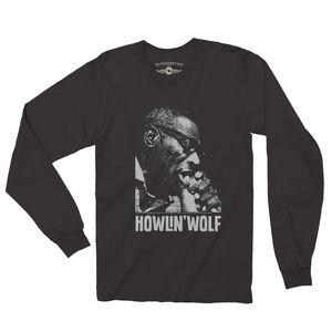 Howlin' Wolf Black Long Sleeve T-Shirt (2XL)