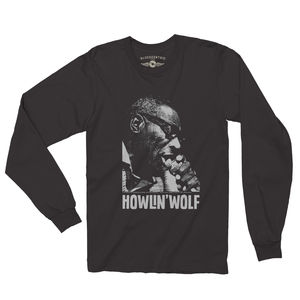 Howlin' Wolf Black Long Sleeve T-Shirt (2XL)