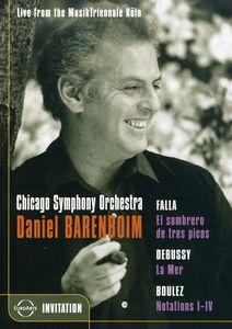 Chicago Symphony Orchestra: Daniel Barenboim