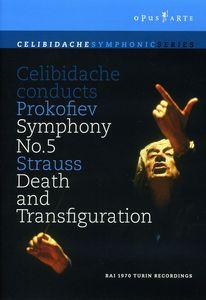 "Celibidache Conducts Prokofiev Symphony No. 5 /  Strauss ""Death and Transfiguration"""