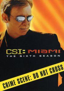 CSI Miami: The Sixth Season