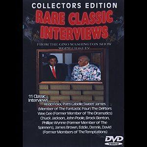 Rare Classic Interviews From Gino Washington Show