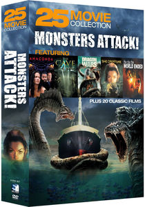 Monsters Attack!: 25 Movie Collection