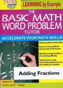 Basic Math Word Problms: Adding Fractions
