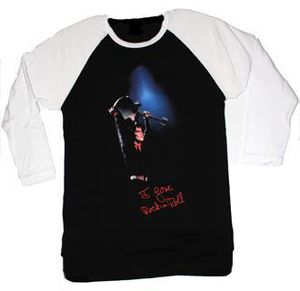 I Love Rock & Roll T-Shirt Baseball T-Shirt