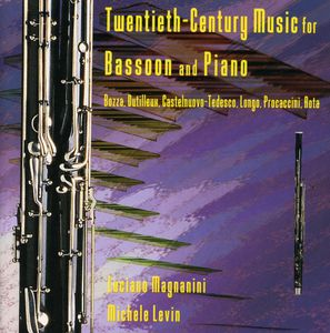 Twentieth Century Music For Bassoon & Piano /  Var