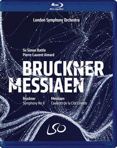 Bruckner: Symphony 8 /  Messiaen: Couleurs De La Cite Celeste [Import]