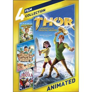 4-Film Collection: Animated