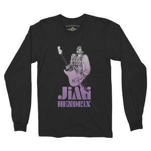 Jimi Hendrix 1968 Ltd. Edition Black Long Sleeve T-Shirt (XXL)