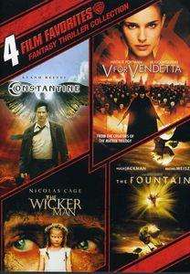 4 Film Favorites: Fantasy Thriller Collection