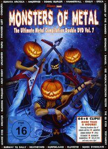 Vol. 7-Monsters of Metal [Import]