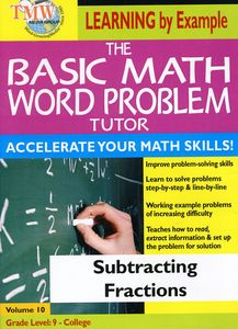 Basic Math Word Problms: Subtracting Fractions