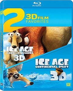 Ice Age 3 /  Ice Age 4 Double Feature