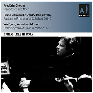 Emil Gilels in Italy