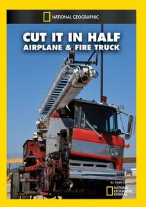 Cut It in Half: Airplane and Fire Truck