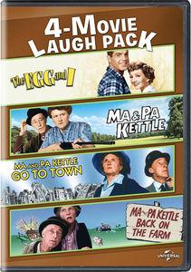 4-movie Laugh Pack: Egg and I /  Ma and Pa Kettle /  Ma and Pa Kettle Go to Town /  Ma and Pa Kettle Back on the Farm