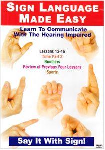 Sign Language Series 13-16