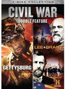 Civil War Double Feature: Gettysburg /  Lee & Grant